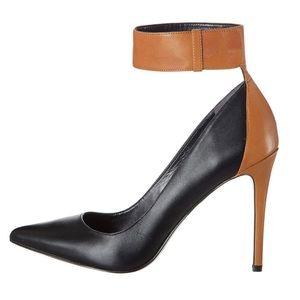 Enzo Angioloni Fastir Ankle Strap Pump Heels